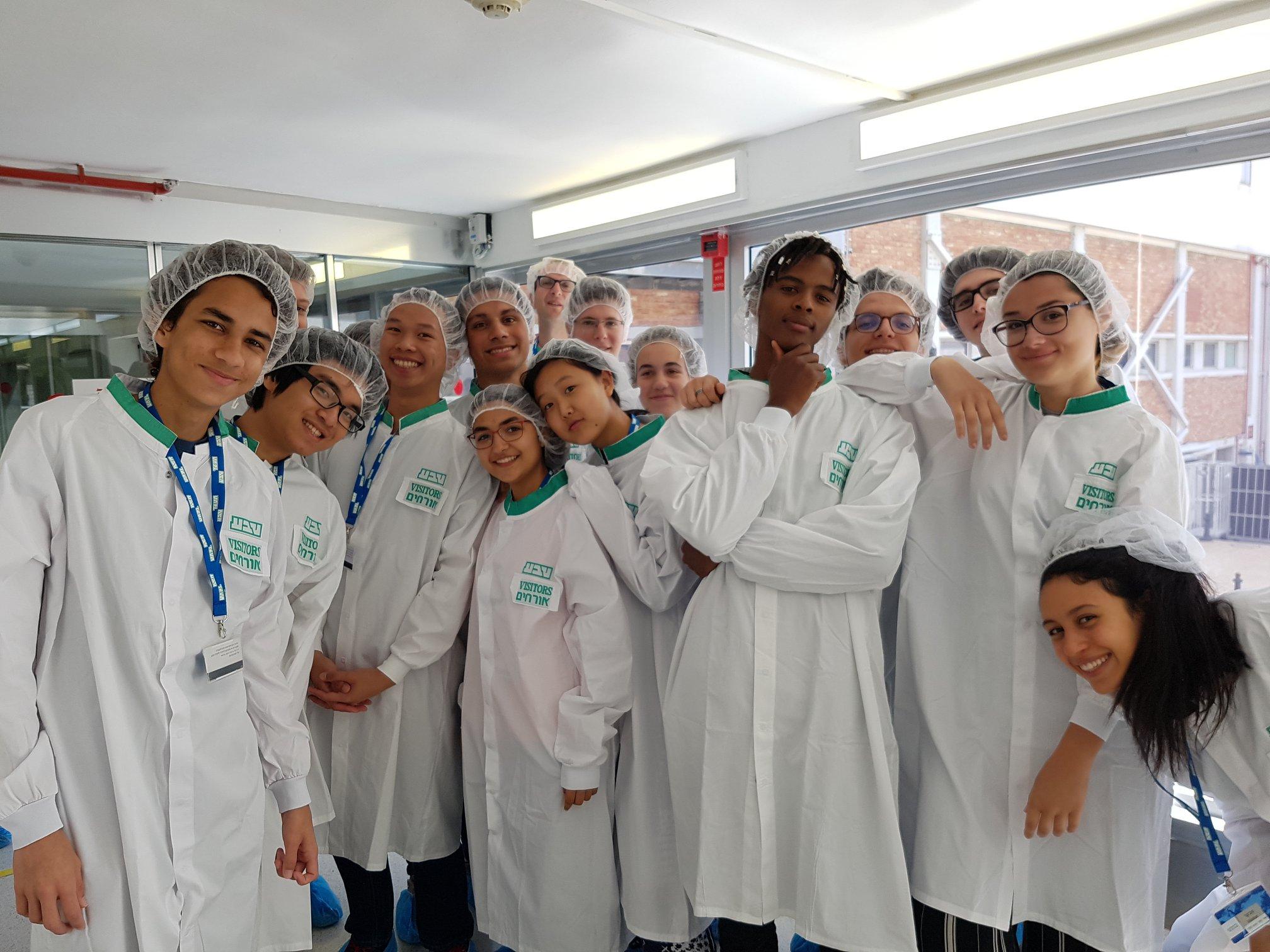 Visit to TEVA Pharmaceutical Industries